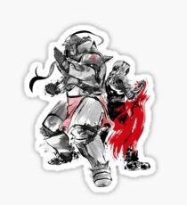 Brotherhood Sumi-e Sticker