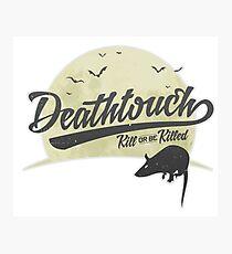 MTG - Magic the Gathering - Deathtouch - Archetype Logo Photographic Print