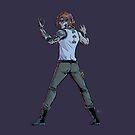 Cyborg Haught by scarykrystal
