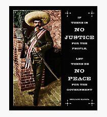 Emiliano Zapata Fotodruck