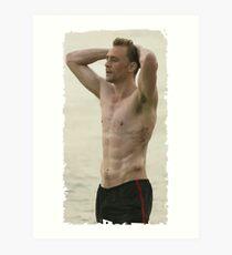 Tom Hiddleston Kunstdruck