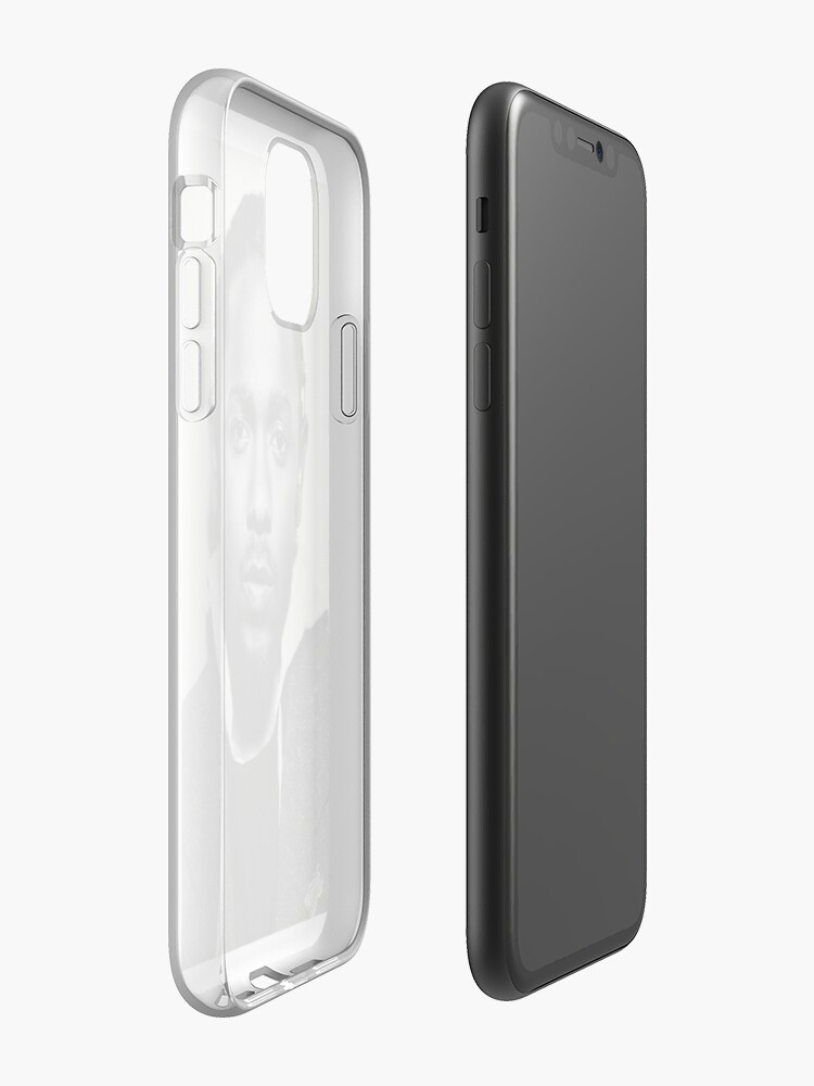 coque iphone 11 induction | Coque iPhone « Coup de tête de Kendrick Lamar », par LukeBrawthen