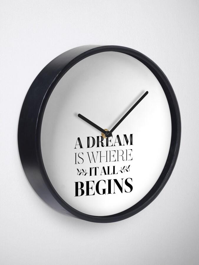 Erfolg Ziele Träume Ziele Haltung Motivierend Zitat Uhr