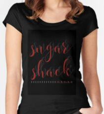 Sugar Shack Women's Fitted Scoop T-Shirt