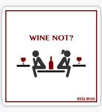 Only Wine Sticker