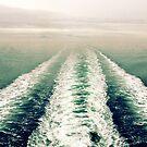 Ferry Wake by Tracy Friesen