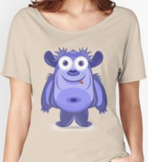 Cute cartoon monster Women's Relaxed Fit T-Shirt