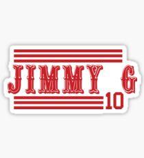 "Jimmy G ""San Francisco"" Sticker"