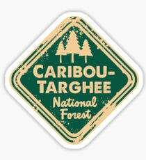 Caribou-Targhee National Forest Sticker
