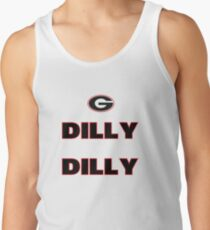 43badd00b94a44 DILLY DILLY Men s Tank Top. Bud Light Pit of Misery The Sequel Dilly Dilly  Georgia Bulldogs football TV Commercial meaning Men s