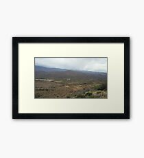 Along the Highway Framed Print