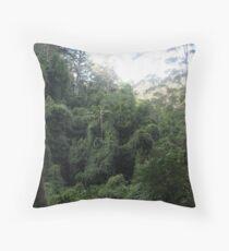 Australian Rainforest Throw Pillow