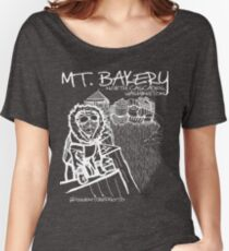 Mount Bakery Summit Sweetness (White Design) Women's Relaxed Fit T-Shirt
