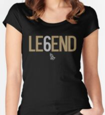 Drake Legend Six 6 OVO  Women's Fitted Scoop T-Shirt