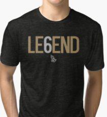 Camiseta de tejido mixto Drake Legend Six 6 OVO