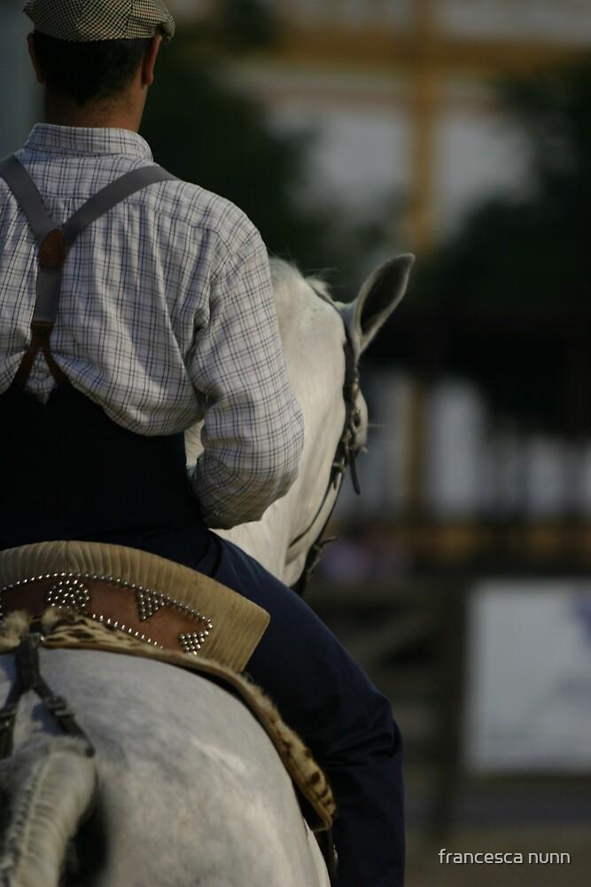 Portuguese Rider by francesca nunn