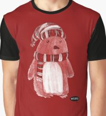 Rosy Penguin by Vixtopher Graphic T-Shirt