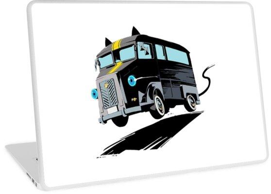 Persona 5 morgana bus by deadmoonelf