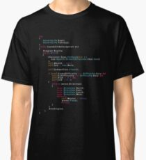 Is This The Real Life Coding Programming Color Classic T-Shirt