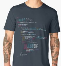 Is This The Real Life Coding Programming Color Men's Premium T-Shirt