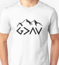 God is Greater than the Highs and Lows; Ups and Downs T-Shirt