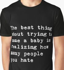 Naming a baby Graphic T-Shirt