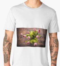 Tulip seen from directly above Men's Premium T-Shirt