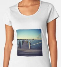 View from the dock Women's Premium T-Shirt