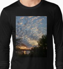 Sunset Across Mozingo Lake Long Sleeve T-Shirt