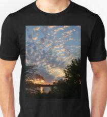 Sunset Across Mozingo Lake Unisex T-Shirt