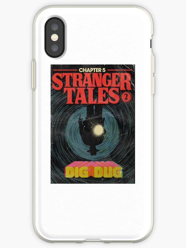 the best attitude 07d7a bc012 'Stranger Things Chapter 5 Dig Dug' iPhone Case by PaulyH