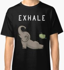 EXHALE [ELEPHANT] Classic T-Shirt
