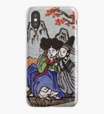 Traditional Korean Couple iPhone Case/Skin
