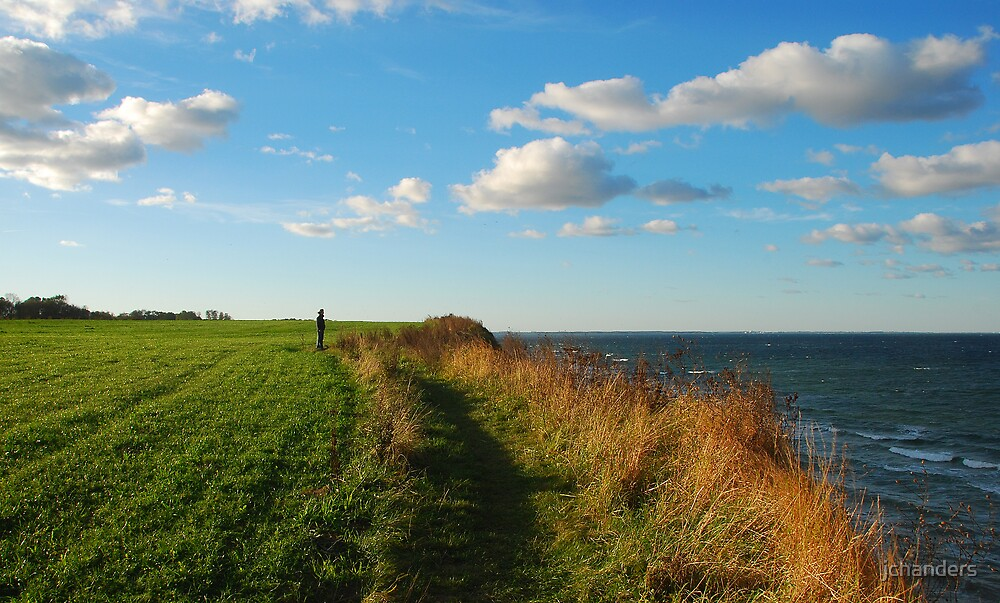 On the Baltic Sea cliff by jchanders