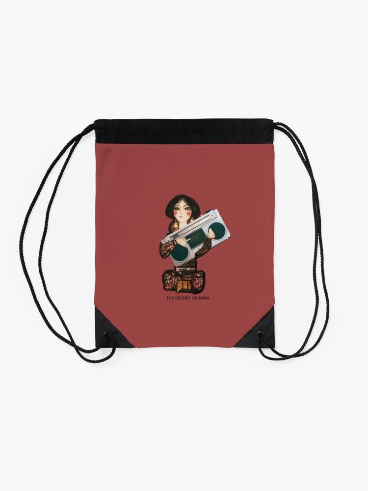 Alternate view of The Secret of Mana Drawstring Bag