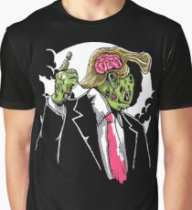Donald Trump Zombie Graphic T-Shirt