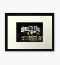 The Crucible, Sheffield ( Yellow ) Framed Print
