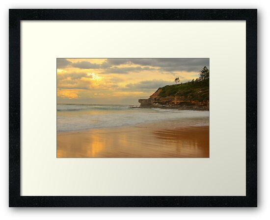 Days Gone By - Warriewood Beach - The HDR Experience by Philip Johnson