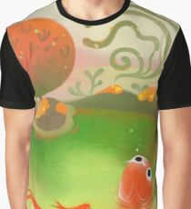 Fish pond Graphic T-Shirt