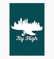Fly High Eagles  Photographic Print