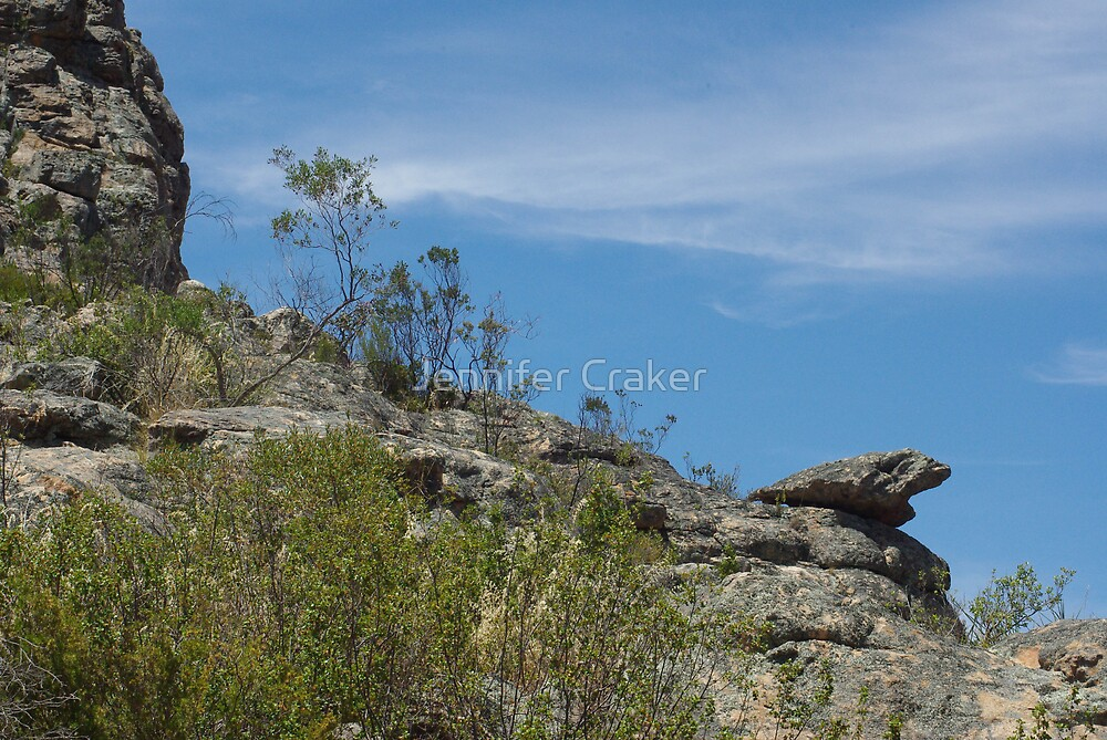 Mitre Rock diagonal view by Jennifer Craker