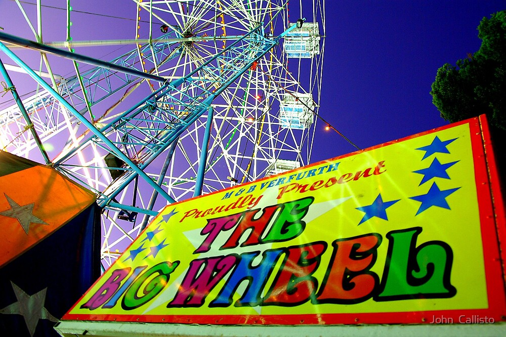 Adelaide Fringe - The Big Wheel by John  Callisto