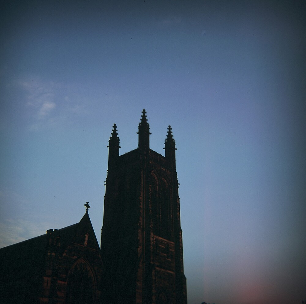 leam church at dusk by armgw