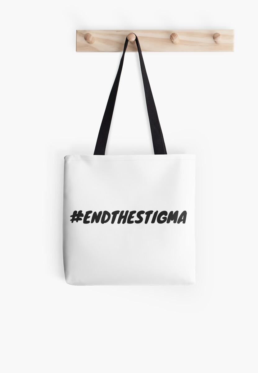 End The Stigma Hashtag by briannafae