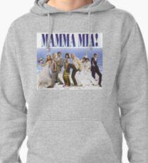 Mamma Mia Cast Poster Pullover Hoodie