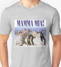 Mamma Mia Cast Poster Unisex T-Shirt