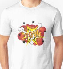 POW - Comic Book Style Explosion Cartoon T-Shirt