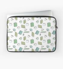 Books and Hot Beverages Laptop Sleeve