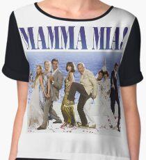 Mamma Mia Cast Poster Chiffon Top