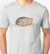Thylacine Sleeping Unisex T-Shirt